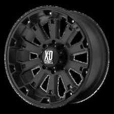 XD Misfit 17x9 Matte Black Chevy Ford Dodge Jeep