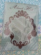 """* ALANNAH HILL * Sz O/S """"All Twisted"""" stockings in Teal. NIP"""
