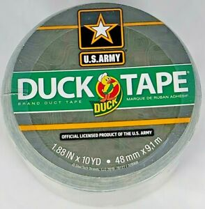 """1 Roll Official US Army Digital CAMO PREMIUM DUCK Brand Duct Tape 1.88"""" x 10yd"""
