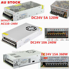 AC220 - 240V TO DC 24V 5/10/15A 120/240W/360W Transformer Regulated Power Supply