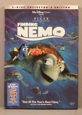 Finding Nemo (Dvd, 2003 2-Disc Full and Widescreen) Disney Pixar Cardboard Cover