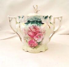 Antique RS Prussia Sugar Bowl Translucent porcelain C.1861 and 1882