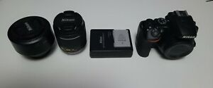 Nikon D3500 24.2MP with 18-55mm Kit & 50mm Lens prime, Shutter Count: 3000