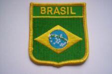 Wappen.Flaggen-Aufnäher  Brasil  ca  6x7,5cm