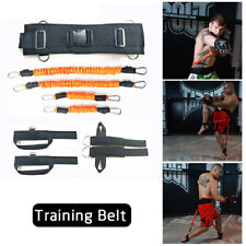 150 lbs Resistance Bands Leg Agility Strength Boxing Crossfit Training Belt Trai