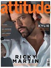 Attitude Magazine May 2018 Ricky Martin Kylie Minogue Adam Duxbury Ben Whishaw