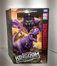 Transformers: Generations   Kingdom: Leader Class WFC-K10 Megatron (Beast)
