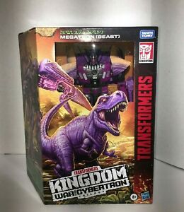 Transformers: Generations | Kingdom: Leader Class WFC-K10 Megatron (Beast)