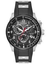 Citizen Promaster Al Hora Mundial Goma Radio Control Reloj Hombre AT4138-05E