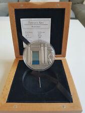 2007 Palau 2 Oz Silver Coin Tiffany Art Renaissance $10