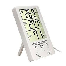 Termometro igrometro digitale temperatura umidità interno esterno sonda esterna