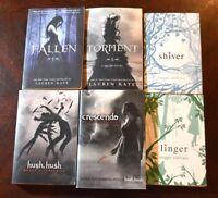 Lot 6 YA/Teen NYT Bestseller Dystopian SHIVER Hush FALLEN Crescendo LINGER W6