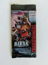 Hasbro Transformers TCG Omnibots War for Cybertron Booster Pack 2019 SDCC SEALED