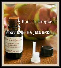 1 ORGANIC Detoxified Nascent Detoxified GMO FREE Cayce Colloidal Mined  Iodine