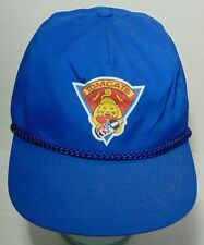 Rare Old Vintage 1980s Tomcats Diet Pepsi Advertising Snapback Trucker Hat Cap