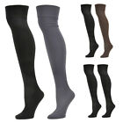 6 Pack: Steve Madden Fleece Lined Knee Highs