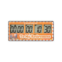 (My Retirement) Count Down Timer Kitchen Timer Clock Reminder also Reading Study