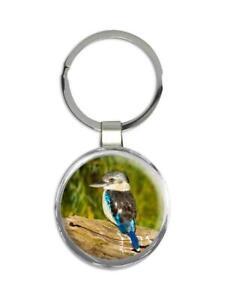 Gift Keychain : Kookaburra Bird Australia Nature Ecology Birdwatching Animals