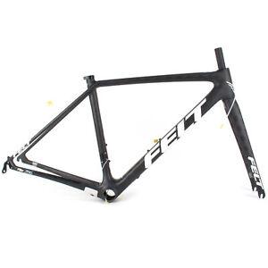 2019 Felt FR FRD Matte Text 43Cm // Road Bike Frame Frameset