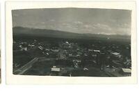 RPPC Early Aerial View ALTURAS CA Modoc County California Real Photo Postcard
