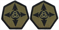 2 Pack U.S. Army 364th Sustainment Command OCP Hook Military Patches