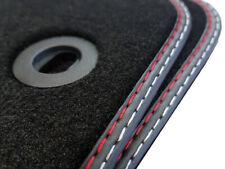 2 teilges Fußmatten Set für Toyota iQ Bj.2008-2016 Qualität Velours Doppelnaht