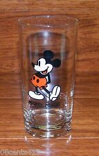 """Disney Productions Mickey Mouse 5 1/2"""" Tall Drinking Glass Cup **READ**"""