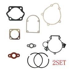 Gasket Set &4*Pistion Rings Kit Fits 80cc  Motorized Bicycle Bike Motor Engine
