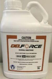 DELFORCE 5L - DIY PEST CONTROL SPRAY - DELTAMETHRIN - SPIDERS