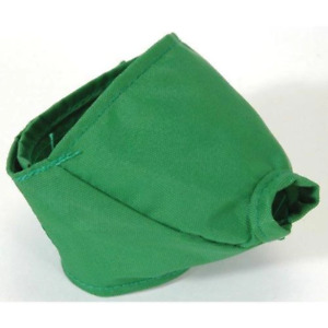Four Flags Quick Adjustable Nylon Muzzle for Cats Small Green under 6lbs