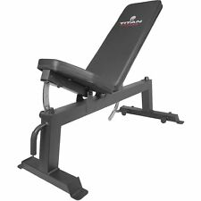Titan Fitness Adjustable Flat Incline Weight Bench (400202)