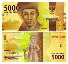 2016 Indonesia 5000 Rupiah Uncirculated One Note