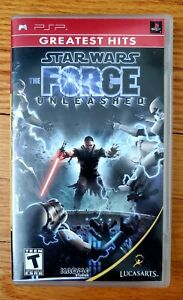 Star Wars: The Force Unleashed - Sony PSP UMD Game Greatest Hits