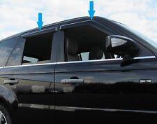 Window Wind/rain deflector tinted smoked 4 door kit Range Rover Sport 2005-2013