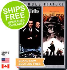 Goodfellas / The Untouchables (DVD, 2014) NEW, Robert De Niro, Ray Liotta, Mob