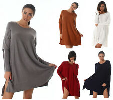 Knitted Dress Knitted Oversize Mini Dress Long Jumper Knitted Pullover