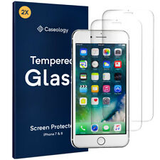 [2 PACK] iPhone 8 / 7 Caseology® Tempered Glass HD Ultra Clear Screen Protector