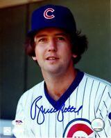 Bruce Sutter autographed signed 8x10 photo MLB Chicago Cubs PSA COA