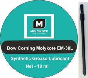 Dow Corning Molykote EM-30L Synthetic Grease Audio,Office, Plastic Gears + Brush