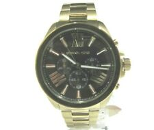 Michael Kors Men's Chronograph Wren Gold Tone Stainless Watch MK8766 New NWT$275
