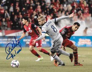 Michael de Leeuw signed Chicago Fire MLS Soccer 8x10 photo autographed 5