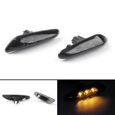 2X Smoke Amber LED Turn Indicator Signal Side Marker Light for BMW E82 E88 E60 A