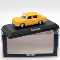 NOREV Renault 8 Yellow 1/43 DIECASET Model Limited Edition Collection