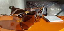 GUCCI GG3777FS Oversized Cat Eye Bamboo Temple Sunglasses & Case(NewGenuine)