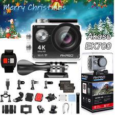 Gifts AKASO EK7000 4K WiFi Action Sports Camera Waterproof Wireless Remote Kit