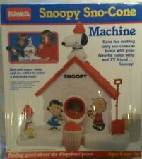 NEW Playskool SNOOPY Sno-Cone Machine BRAND NEW FACTORY SEALED Slushy Ice Snow