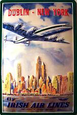 Irish Air Lines Blechschild Schild Blech Metall Metal Tin Sign 20 x 30 cm