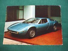vintage  unused 1970's  Maserati Merak post card printed Italy