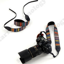 Vintage Soft Camera Shoulder Neck Strap For Nikon Canon Sony Panasonic SLR DSLR7