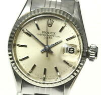 ROLEX Oyster Perpetual Date Ref.6517 cal.1161 Automatic Ladies Watch_559205